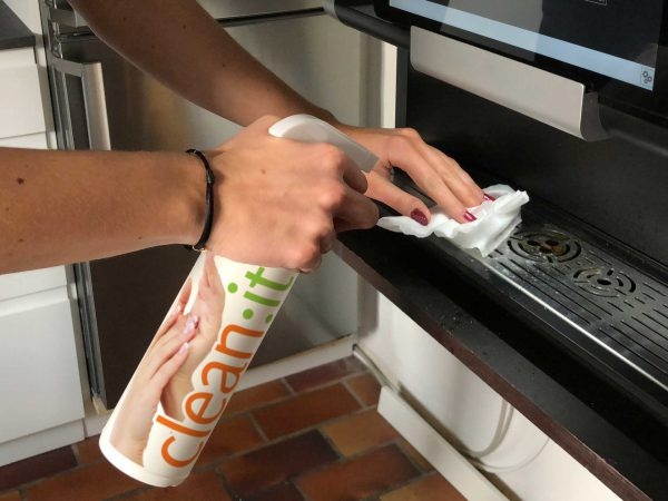 Sanitizing with clean:it