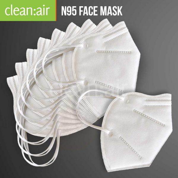 clean:air N95 Face Masks